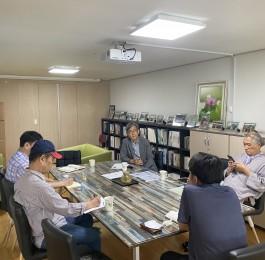 부산 지역 통일· 평화운동 단체 간담회 - 남…
