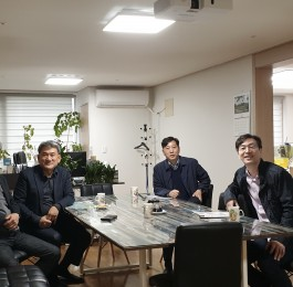 부산우리민족 대표단 모임 - 사핳린 현덕수 대…