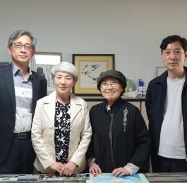 평화운동가 김반아 박사 부산우리민족 방문 (2…
